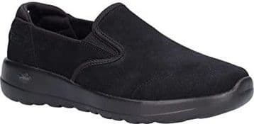 Skechers 15618/BBK Women's Go Walk Joy - 'Predict' Slip On Trainers - Black