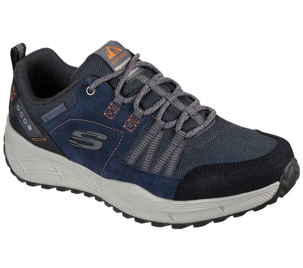 Skechers Equalizer 4.0 Trail Men's Water Repellent Walking Trainer - Navy