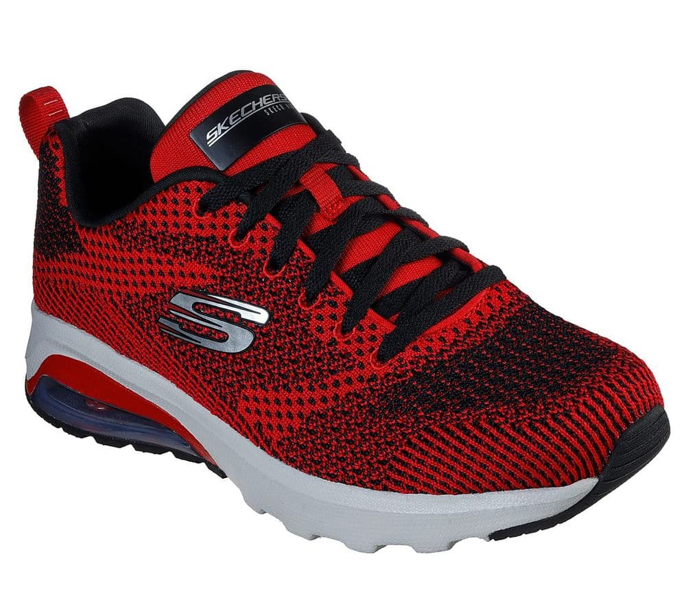Skechers Ereland Men's Trainer - Red
