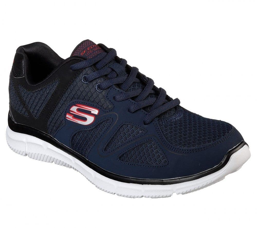 Skechers Flash Point Men's Trainer - Navy