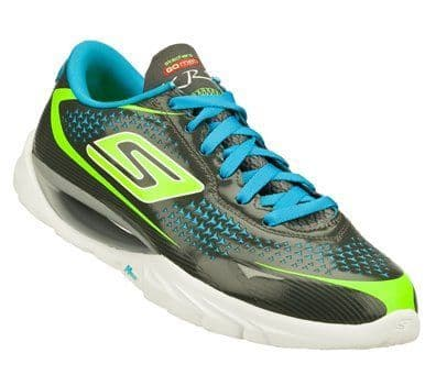 Skechers Women's 'GO meb KRS' Walking/Running Trainer - Charcoal/Turquoise
