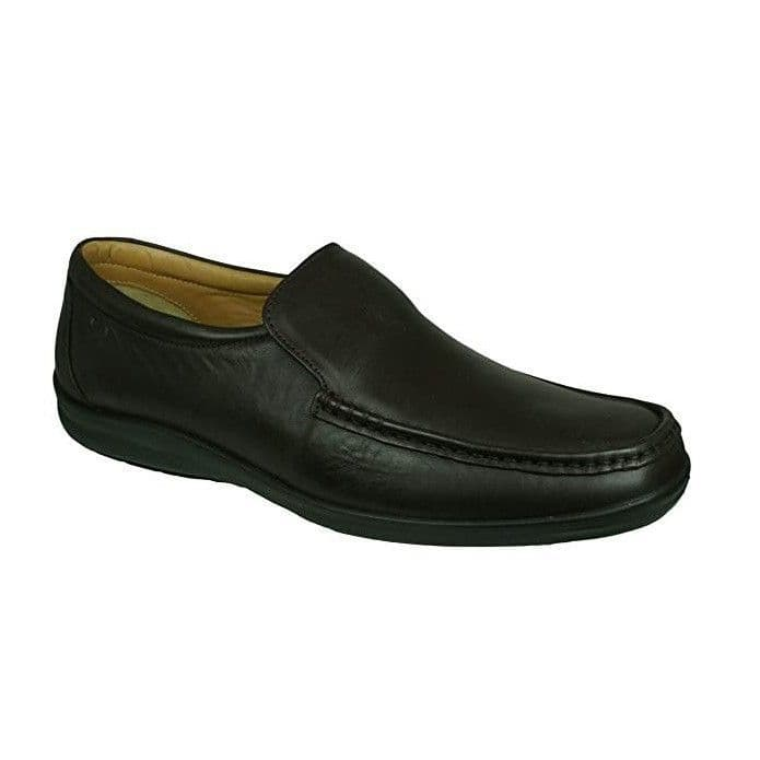 Sledgers 'Carlton' Men's Slip on Loafer - Brown