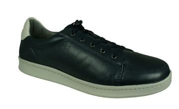 Sledgers 'George' Men's Lace up Trainer/Shoes - Navy