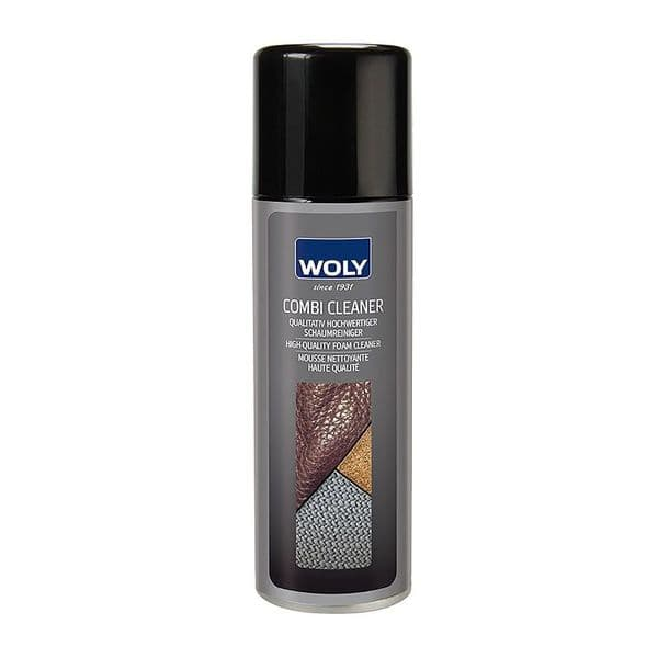WOLY Combi Cleaner - Leather, Suede, Nubuck, Synthetic & Textile Shoe Cleaner - 200ml