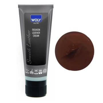 WOLY Fashion Leather Waterproofing Cream - Brown Mahogany
