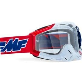 100% FMF Powerbomb US Of A Clear Lens Goggles