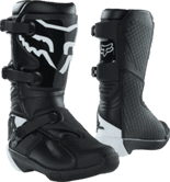 2022 FOX YOUTH COMP BOOT BLACK