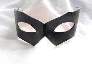 Mens Genuine Handmade Italian Leather  Mask (WILL FIT OVER GLASSES) other colours on request (1)