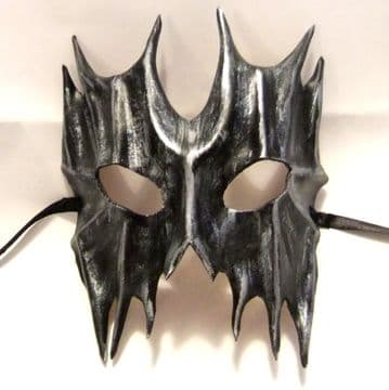Genuine Handmade  Leather Devil Mask