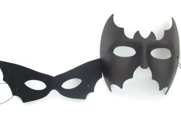 His & Hers Masks Bat Masks