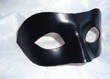 Mens Genuine Handmade Leather eye mask other colours on request (1)