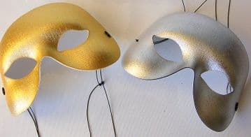 Metallic colored Eye Mask
