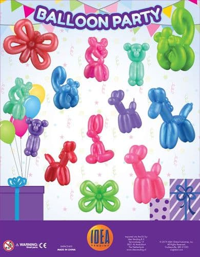 50mm Balloon Animals x 100