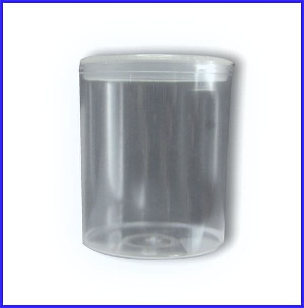 55mm Empty Tower Vending Tubs x 300 (Includes Lids)