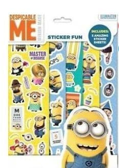 Despicable Me Minion Made Sticker Fun - Includes 5 Amazing Sticker Sheets