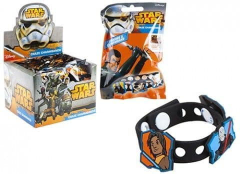 Star Wars Rebels Charm Bracelets x 24