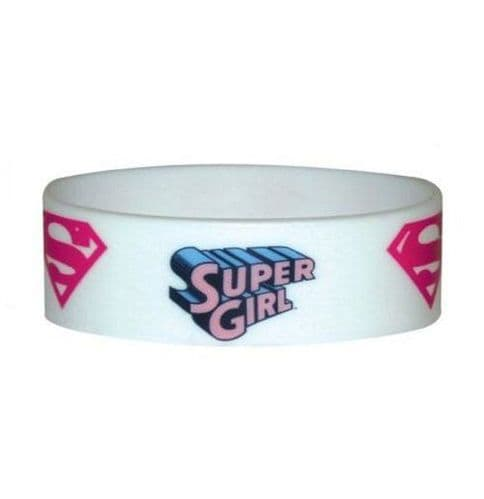 Super Girl Silicone Wristband
