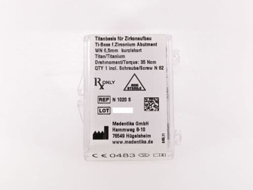 Medentika Straumann Compatible SynOcta (2nd Gen) Ti Base  WN  3.5mm REF:  N1020