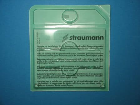 Straumann RN synOcta plastic coping, crown for 048.605, H 7.0mm Ref: 048.663
