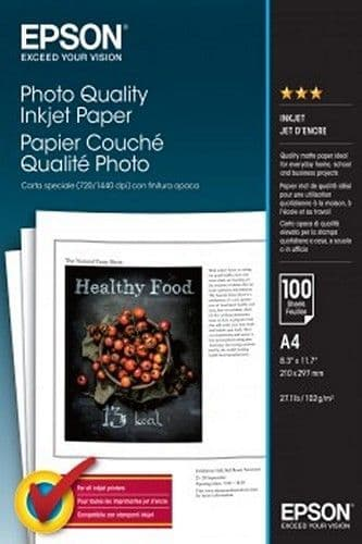 Epson Photo Quality Paper 102gsm NO LONGER AVAILABLE