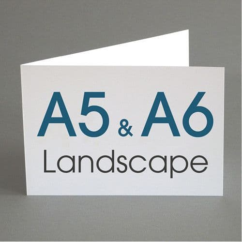 A5 and A6 Landscape Greeting Cards