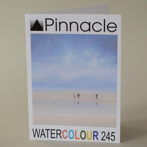 A5 folding to A6 Blank Pinnacle WATERCOLOUR 245gsm Inkjet Greeting Card