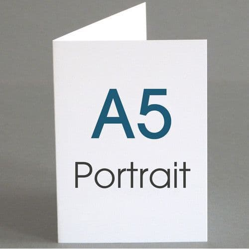 A5 Greeting Cards (A4 folding to A5)