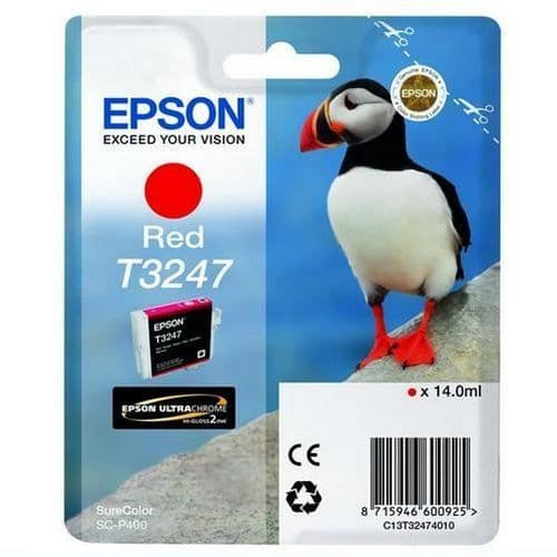 Epson T3247 Red Ink Cartridge 14ml
