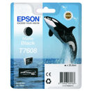 Epson T7608 Matte Black Ink Cartridge Ink Cartridge 25.9ml