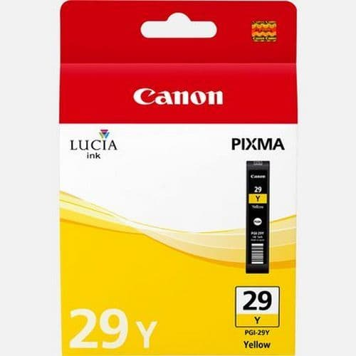 PGi-29Y Yellow ink cartridge for the Canon Pro 1
