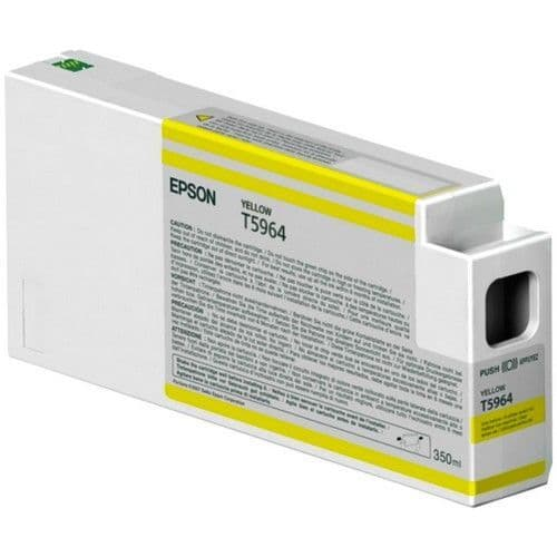 T5964 Epson 9900 T596400 YELLOW 350ml HDR Ink