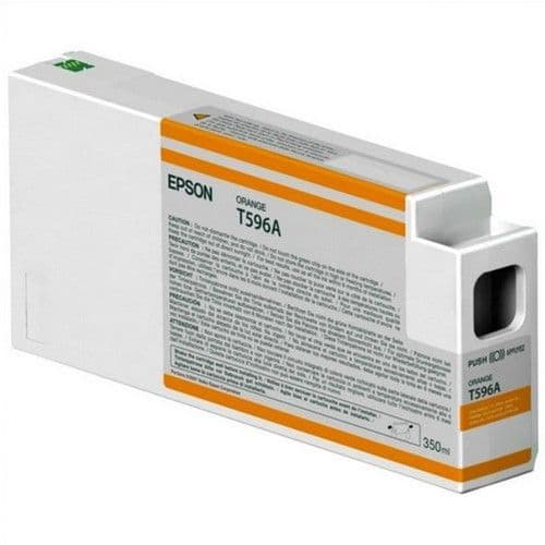T596A Epson 7890/9890 T596A00 ORANGE 350ml HDR Ink