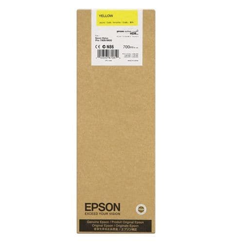 T6364 Epson 9900 YELLOW 700ml HDR Ink