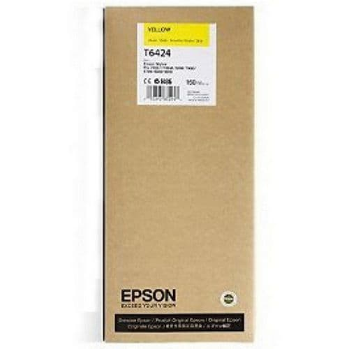 T6424 Epson 7900 YELLOW 150ml HDR Ink