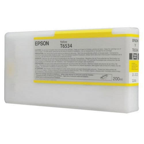 T6534 Epson 4900 YELLOW 200ml HDR Ink