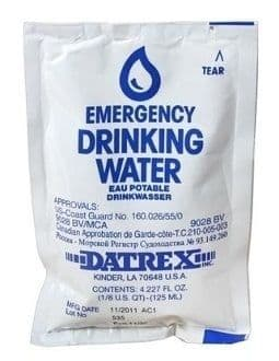 BCB Drinking Water Survival Sachet 125ml