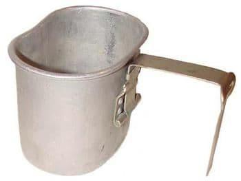 Belgium Military Metal Camping Mug