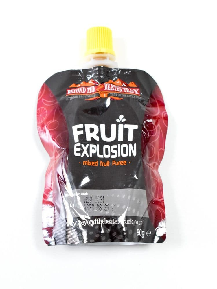 British Army Ration Fruit Explosion Energy Pouches - 20 x Fruit Explosions