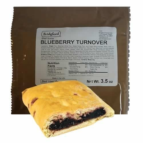 British Army Ration Pack Meal Pouch - Blueberry Turnover