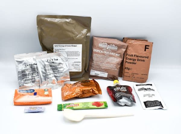 British Army Style Military 12hr Day Ration Pack