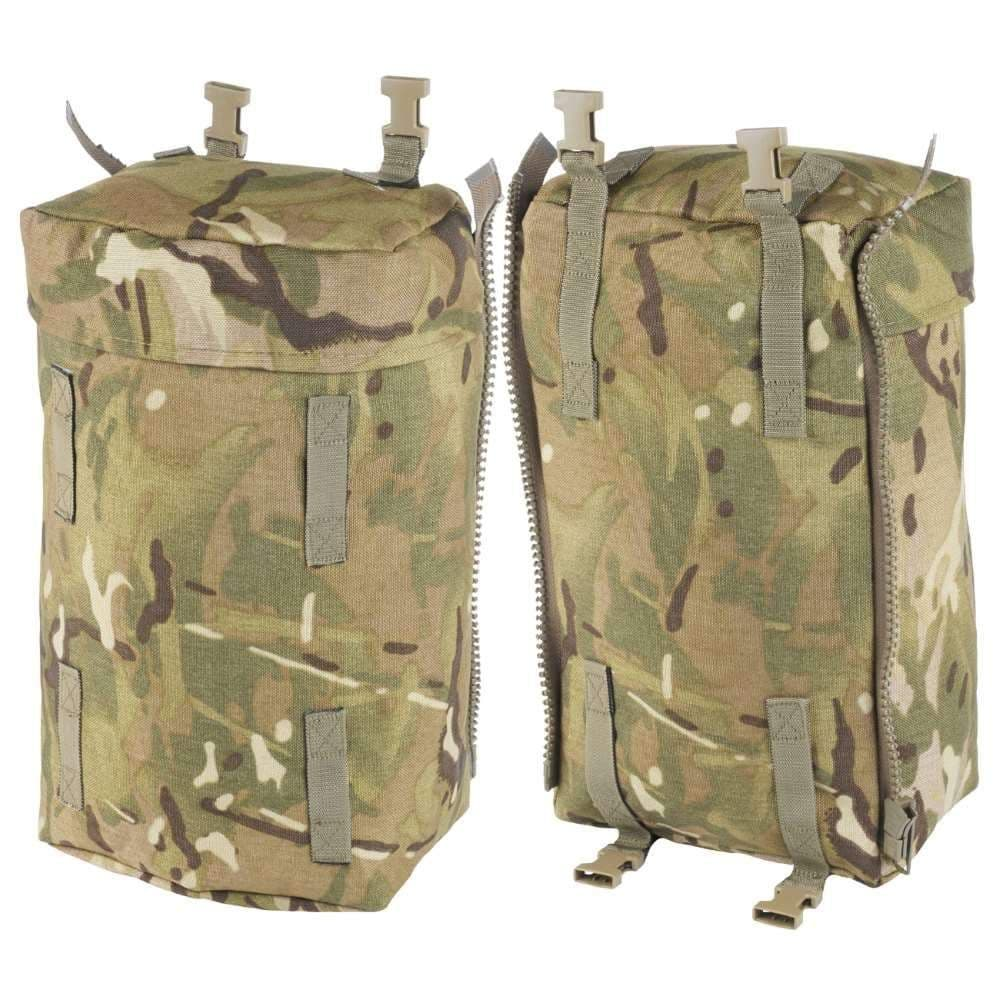 British Military MTP Bergen Side Pouches - Pair
