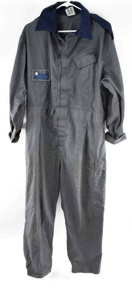 British Military RAF Overalls - Grey and Blue