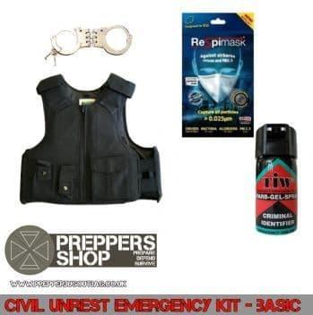 Civil Unrest Defence Kit - Basic