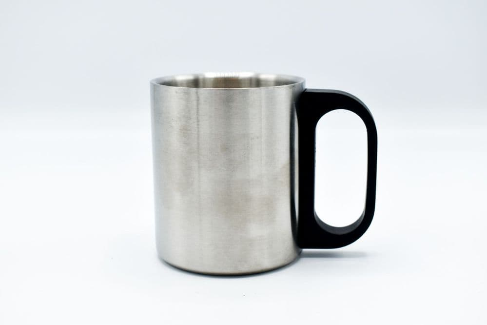 Double Walled Insulated Stainless Steel Camping Mug