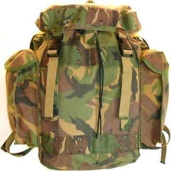 Dutch Military DPM 40l Daysack Patrol Pack Bag