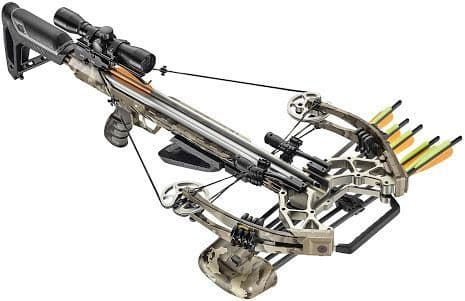 EK Archery Accelerator 410+ 185lb Compound Crossbow Kit - Snow Camo
