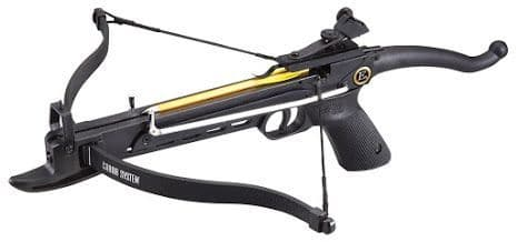 EK Archery Cobra Aluminium 80lb Pistol Crossbow - Black