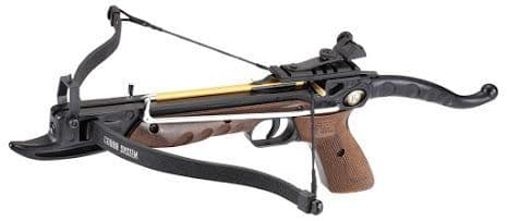 EK Archery Cobra Aluminium 80lb Pistol Crossbow - Wood