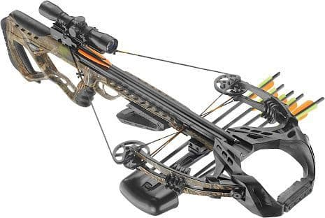 EK Archery Guillotine X+ 185lb Compound Crossbow - Folium Camo