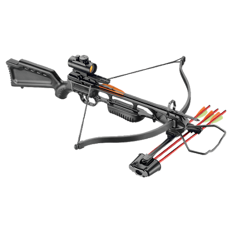 EK Archery Jaguar 175lb Deluxe Crossbow Kit - Black